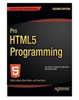 Sách lập trình HTML5